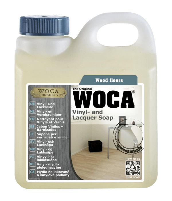 Woca Vinyl and Lacquer Soap Laminate Floor Cleaner