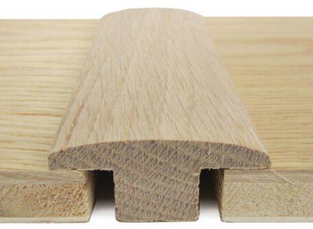 Solid Oak T-Bar threshold