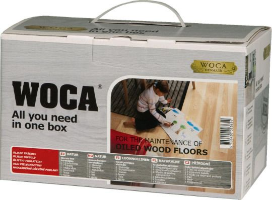 Woca Maintenance Kit Natural Oiled Flooring