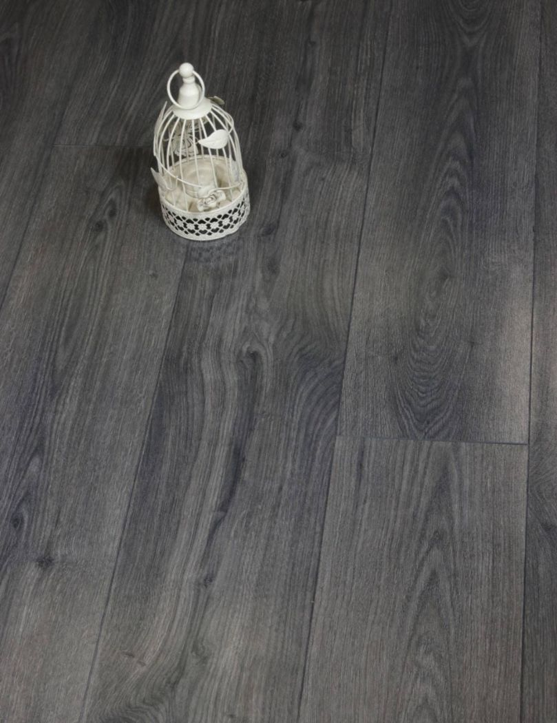 High Gloss Dark Laminate Flooring