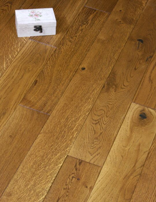 125mm Golden Oak Engineered Flooring