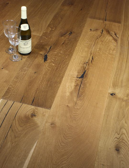 Wide Plank Oak Engineered Wood Flooring