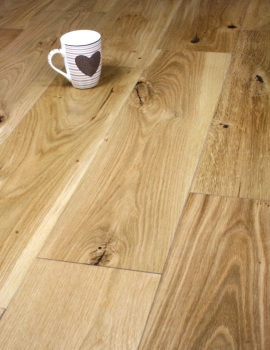 oak lacquered engineered board
