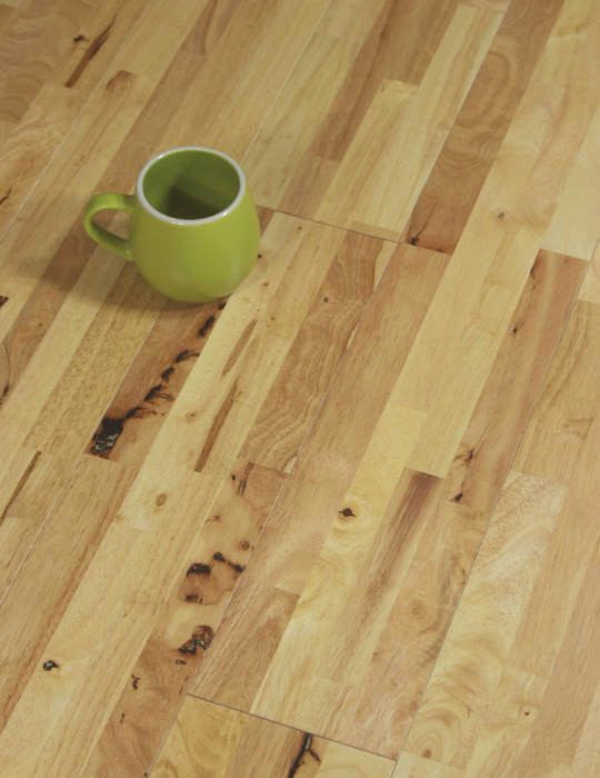 hevea wood flooring natural