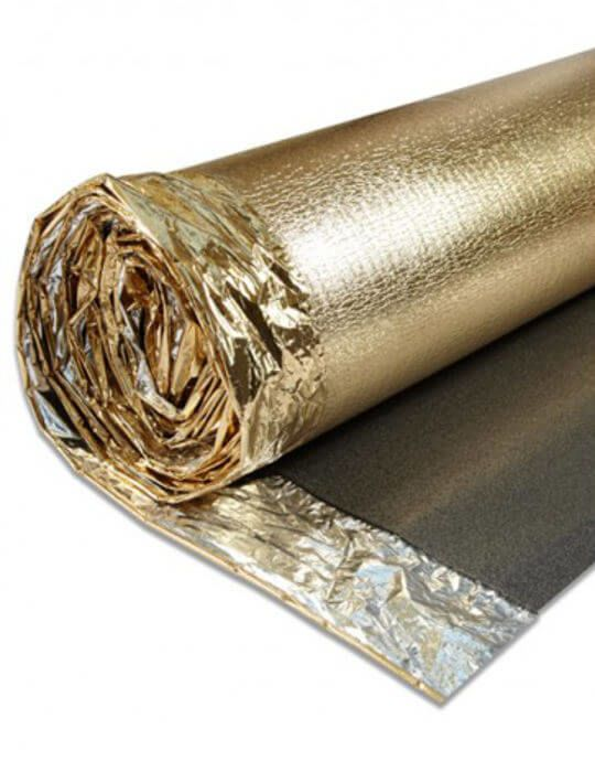 Sonic Gold Underlay for laminate flooring