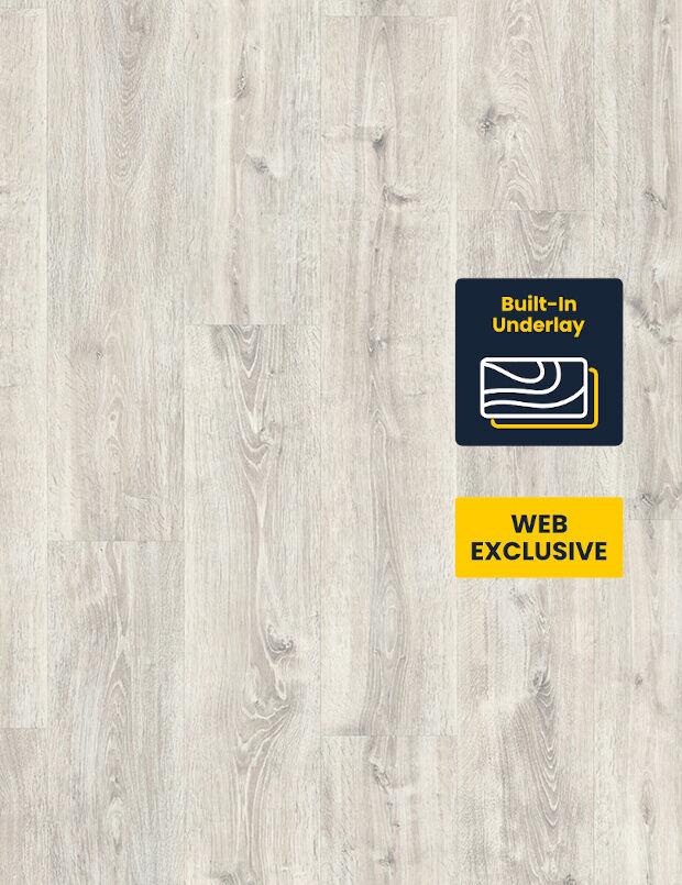 Sustainable Flooring White Waltham Oak LVT Laminate