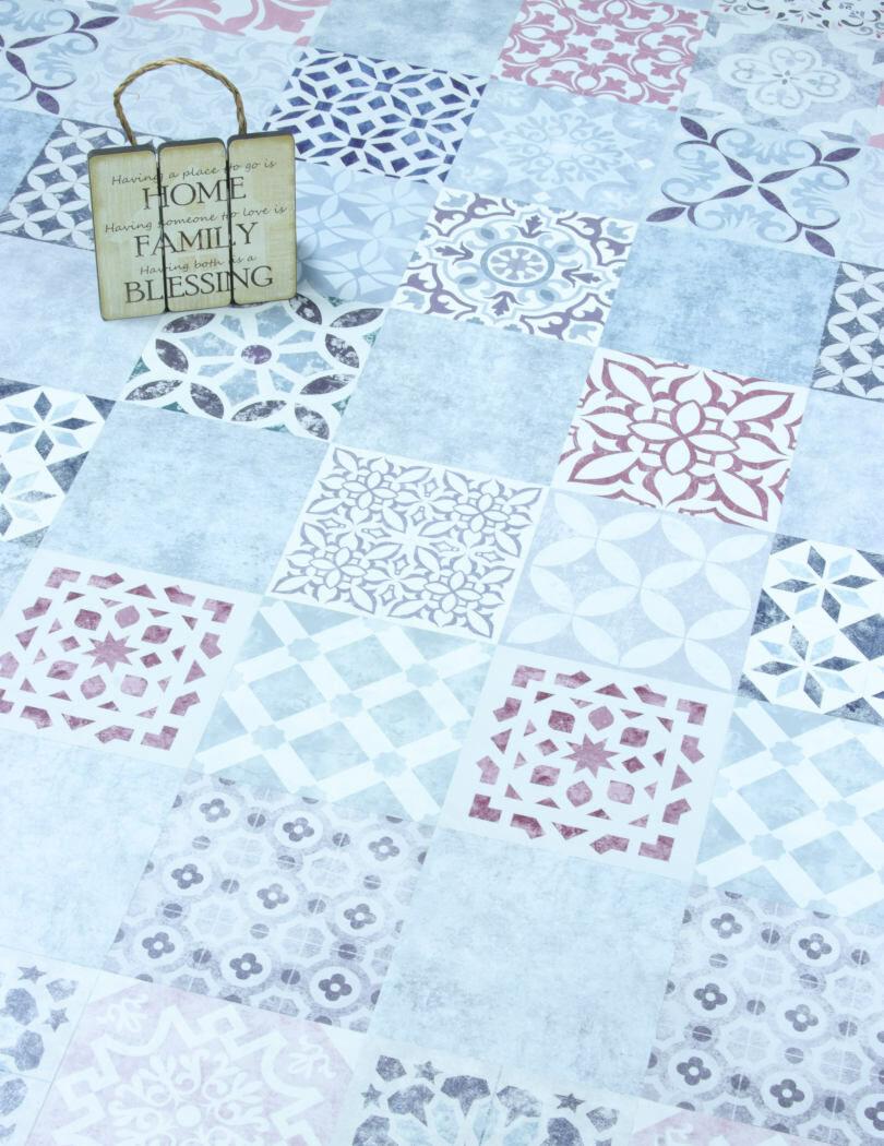 Faus Mosaic Tile Effect Laminate