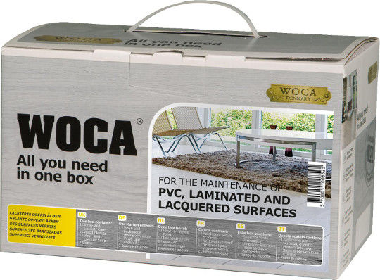 Woca Clean and Care kit Lacquered