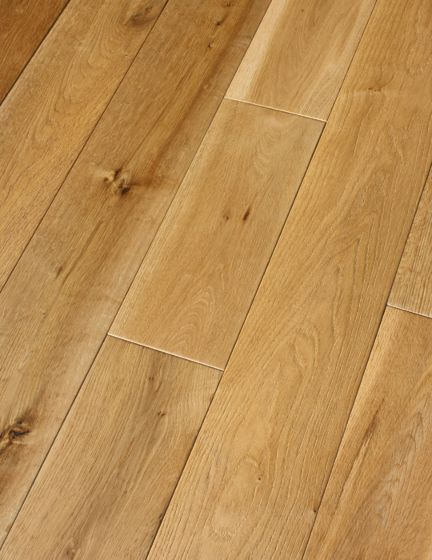 150mm Oak Brushed Solid Wood Flooring