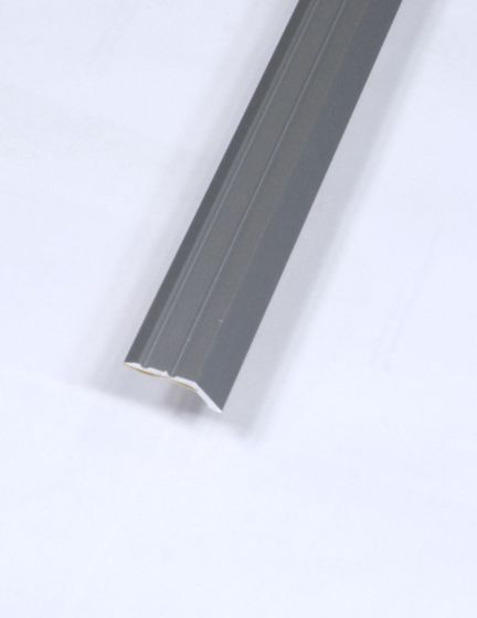 Silver laminate reducer door bar