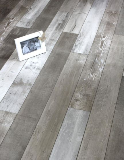 Rustic grey laminate floor waterproof