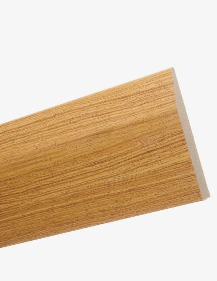 White Oak MDF Skirting 120mm