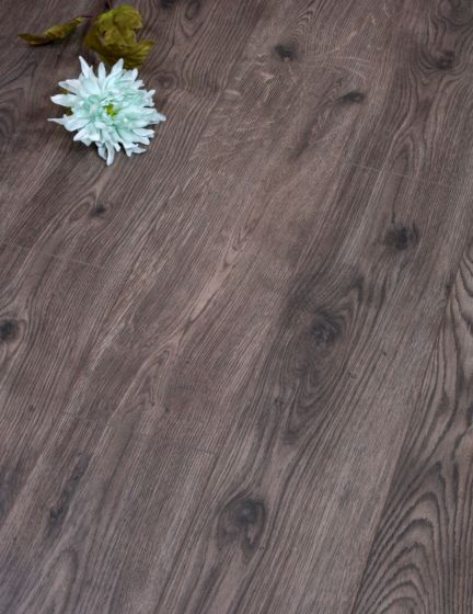 Oxford Oak Grey Brown Laminate Flooring