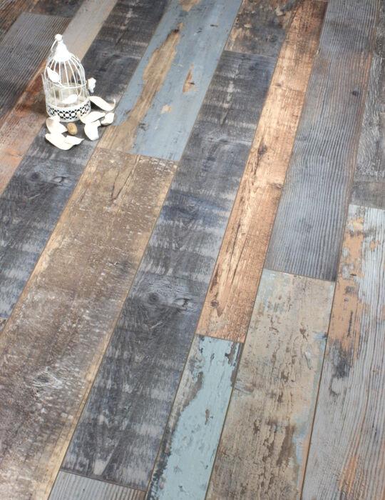 Lamette Cobalt Blue Laminate Flooring