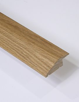 1m Oak Reducer 14mm Door Bar