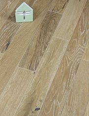 Smoked and Limed Oak wood floor